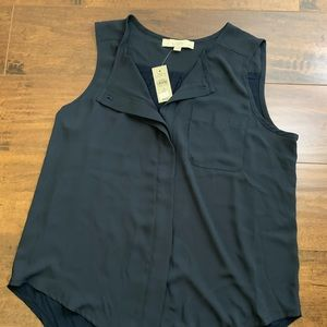 NWT - Loft Mixed media sleeveless top